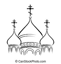 The Cathedral Domes - The Bulbous onion-shaped Domes of...