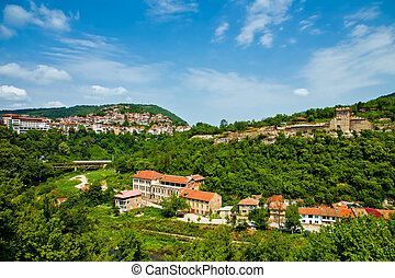 Veliko Tirnovo (Tarnovo) old city in Bulgaria