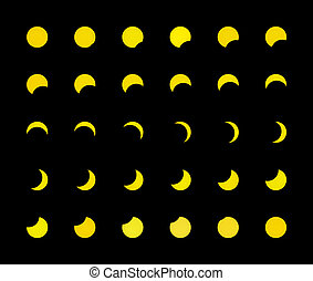 Solar eclipse for a background 1.08.08. Ukraine, Donetsk...