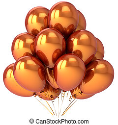 Luxury party balloons