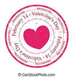 I Love You Rubber Stamp - Rubber Stamp vector with the words...