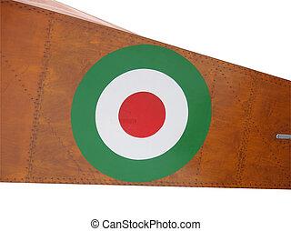 Italian air force flag - Roundel flag of the Italian Air...