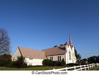 Country Side - Beautiful rural church in Wisconsin