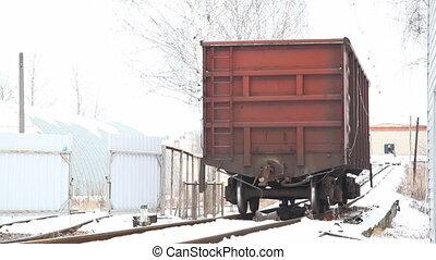 Train wagoon motion
