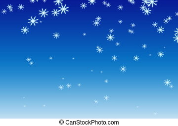 Snow (NTSC) - Animation of snowflakes.