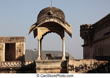 Bundi Rajasthan - Bundi in the mountains of Rajasthan, India...