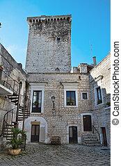 Norman Tower Rutigliano Apulia