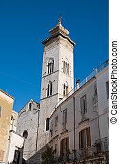 Collegiate church St. Maria della Colonna. Rutigliano....