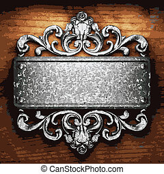 ferro, Ornamento, legno