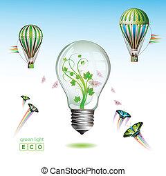 Light bulb for eco