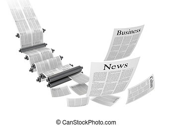 Printing machine - Media concepts-print media