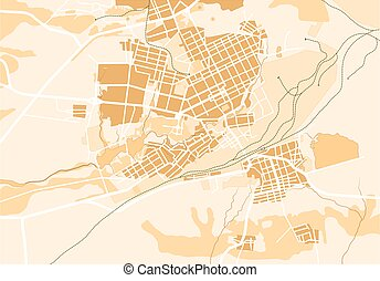 Vector Map of The City II - Vector Map of The City 2....