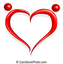 love heart - red love heart happy valentines day
