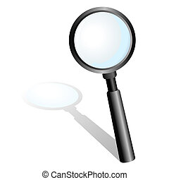 Magnifying Glass - Stock vector of magnifying glass