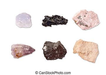 Colección, minerales
