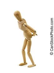 Figurine old age