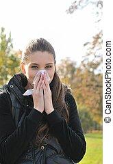 Autumn cold