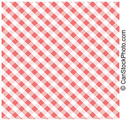 Seamless pink plaid pattern