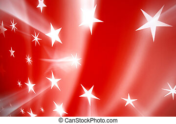 red stars - red christmas stars abstract background
