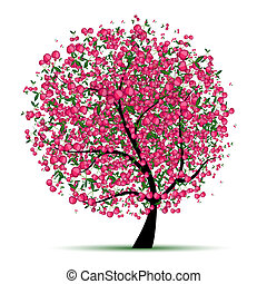 Energy cherry tree for your design