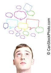 social, conversaciones