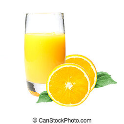 Orange juice - Delicious glass of orange juice