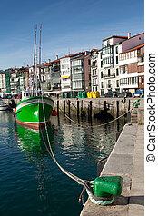 Port of Lekeitio, Bizkaia, Spain