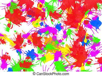 art color grunge background