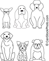 Dog collection - Vector Dog collection