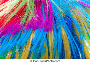 background color hair - wig, abstract background of colored...