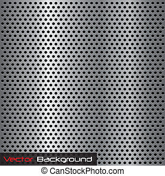Steel Background Texture - Image of a silver gray metal...