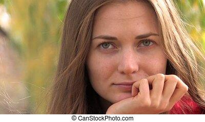 Pensive look