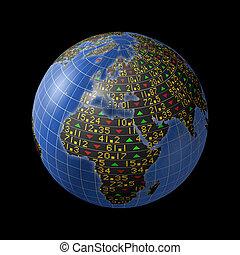 European economy as stock market - World economies with...