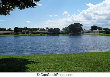 Lakeview in Florida - Community lake a beauty in the...
