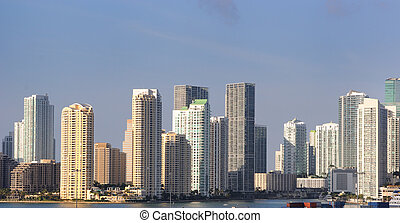 Miami skyline - The skyline of Miami, Florida