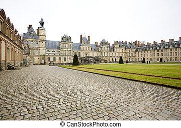 Palace Fontainebleau, Ile-de-France, France