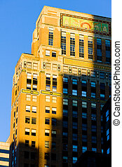 detail of building at Manhattan, New York City, USA