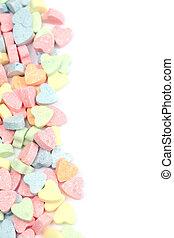 糖果, 心, 邊框
