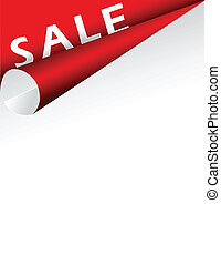 Sale ticket - Sale red ticket