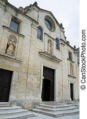 St Pietro Caveoso Church Matera Basilicata