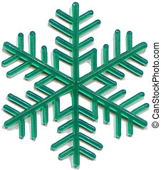 snowflake plastic toy was released in the 70s of last...