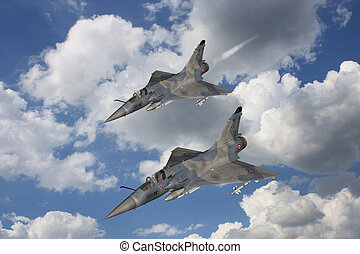 Mirage - Fighter Aircraft - 3d render of a mirage - fighter...