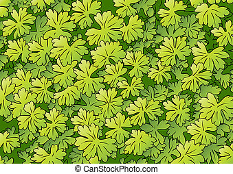foliage - green foliage background