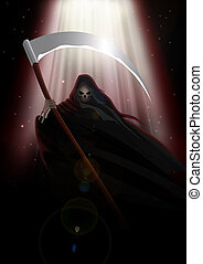 Grim Reaper - Stock image of the Grim Reaper