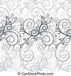 Floral Seamless - Floral seamless background of illustration...