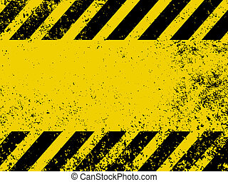 A grungy and worn hazard stripes texture EPS 8 vector file...