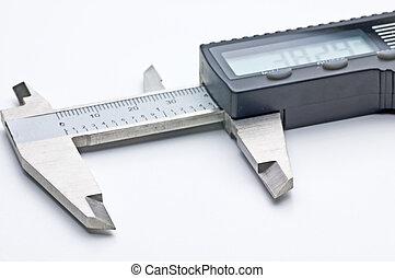 diapositiva, calibrador