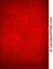 Valentine's day red background
