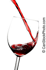 Red wine - Pouring red wine