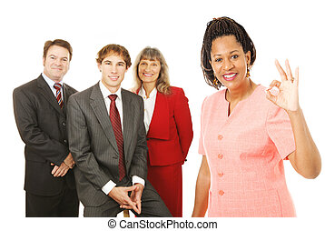 Business Team Leader Okay